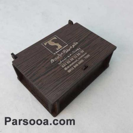 جعبه چوبی فلش مموری تبلیغاتی